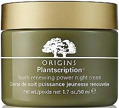 Парфюмерия и Козметика Нощен крем против бръчки - Origins Plantscription Youth Renewing Power Night Cream