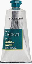 Парфюмерия и Козметика Крем-гел след бръснене за мъже - L'Occitane Cap Cedrat After Shave Cream Gel