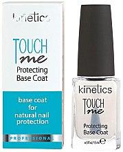 Парфюмерия и Козметика Основа за лак - Kinetics Touch Me Protecting Base Coat