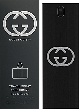 Gucci Guilty Pour Homme Travel Spray - Тоалетна вода — снимка N2