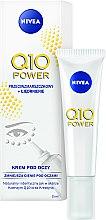 Парфюмерия и Козметика Околоочен крем против бръчки - Nivea Visage Anti Wrinkle Q10 Plus Eye Cream
