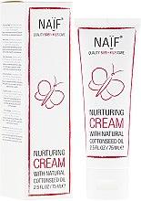 Парфюмерия и Козметика Детски крем за тяло с масло от памучно семе - Naif Nurturing Cream