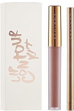 Парфюмерия и Козметика Комплект течно червило и молив за устни - Contour Cosmetics Lip Contour Kit