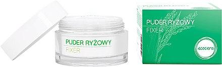 Матираща оризова пудра за лице - Ecocera Rice Face Powder