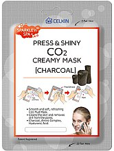 """Парфюми, Парфюмерия, козметика Маска за лице """"Активен въглен"""" - Celkin Press & Shiny Creamy CO2 Mask"""