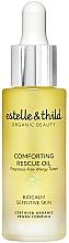 Парфюмерия и Козметика Масло за лице - Estelle & Thild BioCalm Comforting Rescue Oil