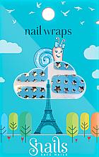 Парфюмерия и Козметика Декориращи лепенки за нокти - Snails Nail Wraps (10бр)