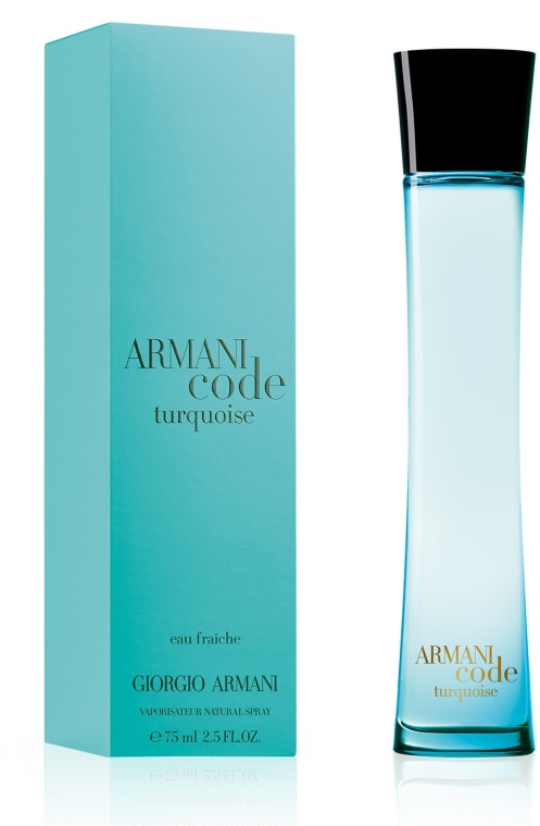 Giorgio Armani Armani Code Turquoise Eau Fraiche Pour Femme - Тоалетна вода