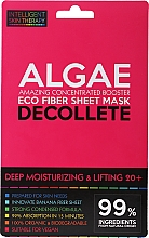 Парфюмерия и Козметика Експрес-маска за деколте - Beauty Face IST Deep Moisturizing & Lifting Decolette Mask Algae