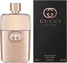 Парфюмерия и Козметика Gucci Guilty Eau de Toilette Pour Femme - Тоалетна вода