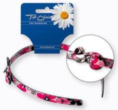 Парфюми, Парфюмерия, козметика Диадема за коса с принтирани розови цветя - Top Choice