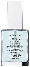 Парфюми, Парфюмерия, козметика Безцветен лак за чупливи нокти - Avon True Colour Nail Experts Peeling And Brittleness Solver