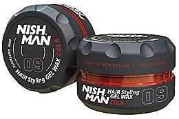 Парфюмерия и Козметика Стилизираща вакса за коса - Nishman Hair Styling Wax 09 Cola