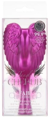 Четка за коса - Tangle Angel Cherub FAB! Fuchsia Professional Detangling Brush (15см) — снимка N1