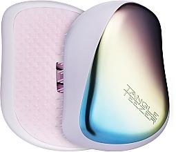 Парфюмерия и Козметика Компактна четка за коса - Tangle Teezer Compact Styler Pearlescent Matte