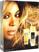 Парфюми, Парфюмерия, козметика Beyonce Rise Pour Femme - Комплект (део спрей/75ml + балсам за тяло/75ml)