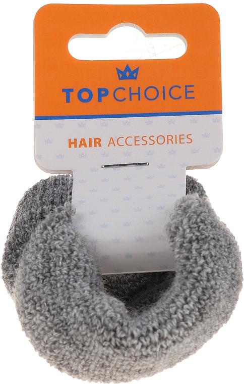 Ластици за коса 2 бр., 66481, сиви - Top Choice — снимка N1