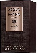 Acqua di Parma Colonia Ambra Travel Spray Refills - Одеколон — снимка N2