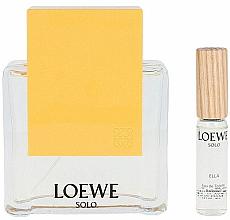 Парфюмерия и Козметика Loewe Solo Loewe Ella - Комплект тоалетна вода (edt/100ml + edt/7.5ml)