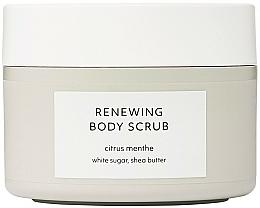 Парфюмерия и Козметика Обновяващ скраб за тяло - Estelle & Thild Citrus Menthe Renewing Body Scrub