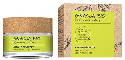 Подхранващ крем за лице с екстракт от овес - Gracja Bio Nourishing Face Cream
