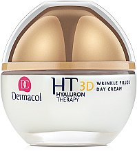 Дневен крем за лице с чиста хиалуронова киселина - Dermacol Hyaluron Therapy 3D Wrinkle Day Filler Cream — снимка N2