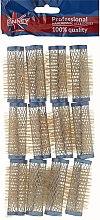 Парфюми, Парфюмерия, козметика Ролки за коса 21/63 мм, сини - Ronney Wire Curlers