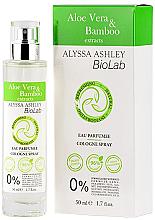 Парфюмерия и Козметика Alyssa Ashley Biolab Aloe Vera & Bamboo - Одеколон