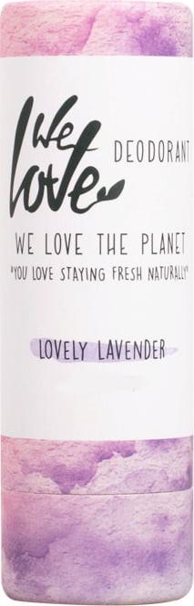 Дезорант стик с екстракт от лавандула - We Love The Planet Lovely Lavender Deodorant — снимка N1