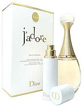 Парфюми, Парфюмерия, козметика Christian Dior Jadore - Комплект (парф. вода/75ml + пълнител/7.5ml)