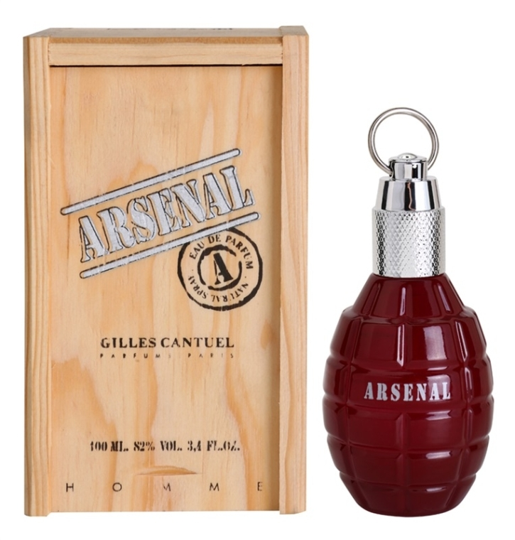 Gilles Cantuel Arsenal Red - Парфюмна вода — снимка N1