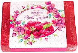"Парфюми, Парфюмерия, козметика Сапун ""Малина"" - Delicate Organic Aroma Soap"