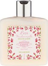 Парфюмерия и Козметика Душ гел за тяло с масло от ший и аромат на роза - Institut Karite Shea Shower Rose Mademoiselle