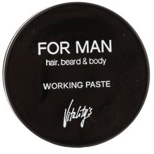 Парфюмерия и Козметика Матираща паста за коса - Vitality's For Man Working Paste