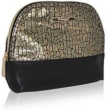 Парфюми, Парфюмерия, козметика Козметична чантичка 4972, черно-златна - Donegal