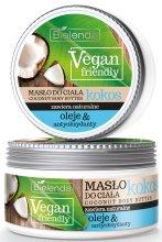 """Парфюми, Парфюмерия, козметика Масло за тяло """"Кокос"""" - Bielenda Vegan Friendly Coconut Body Butter"""