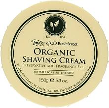 Парфюмерия и Козметика Крем за бръснене - Taylor of Old Bond Street Organic Shaving Cream