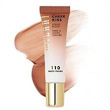 Парфюмерия и Козметика Течен руж за лице - Milani Cheek Kiss Liquid Blush