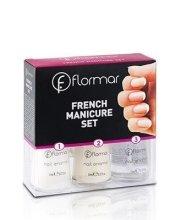 Парфюми, Парфюмерия, козметика Комплект за френски маникюр №227 - Flormar French Manicure Set