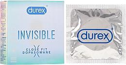 Парфюмерия и Козметика Презервативи 3 бр. - Durex Invisible Close Fit