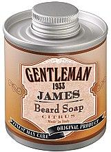 Парфюмерия и Козметика Цитрусово масло за брада - Gentleman 1933 James Beard Soap