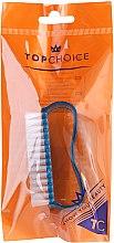 Парфюмерия и Козметика Четка за нокти, 74745, синя - Top Choice