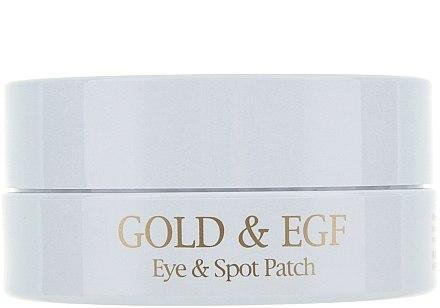 Хидрогел пачове за очи със злато - Petitfee & Koelf Gold&EGF Eye&Spot Patch  — снимка N3