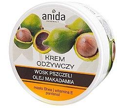 Подхранващ крем с пчелен восък и масло от макадамия - Anida Pharmacy Nourishing Cream — снимка N2