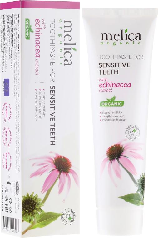 Паста за зъби с екстракт от ехинацея - Melica Organic