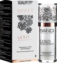Парфюмерия и Козметика Еликсир за лице с пептиден комплекс против бръчки - Bandi Professional Gold Philosophy Rejuvenating Peptide Elixir