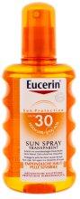 Парфюмерия и Козметика Слънцезащитен спрей за тяло SPF 30 - Eucerin Sun Spray Transparent SPF 30