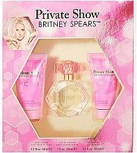 Парфюми, Парфюмерия, козметика Britney Spears Private Show - Комплект (парф. вода/100ml + лосион за тяло/50ml + душ гел/50ml)