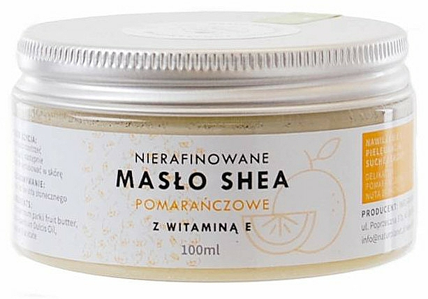 Нерафинирано масло от ший с витамин E - Natur Planet Orange Shea Butter Unrefined & Vitamin E