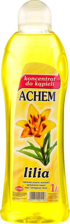 Концентрирана пяна за вана с аромат на лилиум - Achem Concentrated Bubble Bath Lily
